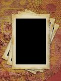 Vintage Photo frames Royalty Free Stock Image