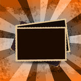 Vintage photo frames Royalty Free Stock Photo
