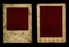 Vintage photo frames Royalty Free Stock Images