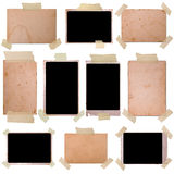 Vintage photo frames set Royalty Free Stock Photography