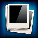 Vintage photo frames - vector s available too Stock Photography
