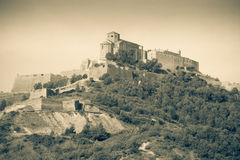 Vintage photo of general view of Castle Royalty Free Stock Images