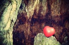 Vintage photo of heart shape Royalty Free Stock Image