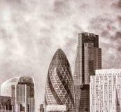 Vintage photo of London landmark Royalty Free Stock Photography