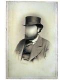 Vintage photo man royalty free stock photos