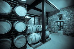 Vintage photo of old winery Stock Photography