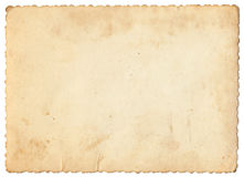 Vintage photo paper. Background. Design element royalty free stock photography