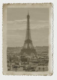Vintage photo Paris Royalty Free Stock Image