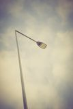 Vintage photo of street lamp Royalty Free Stock Image