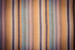 Vintage photo, Striped colorful shawl as background texture Stock Photography