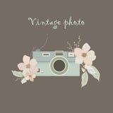 Vintage photo vector illustration