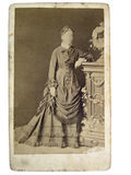Vintage photo of women royalty free stock photography