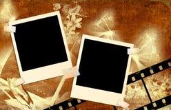 Vintage photoalbum Stock Photography