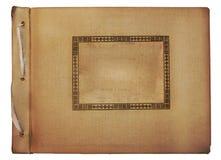 Vintage photoalbum for photos Royalty Free Stock Photo