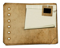 Vintage photoalbum for photos Royalty Free Stock Image