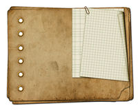 Vintage photoalbum for photos Royalty Free Stock Photo