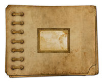 Vintage photoalbum for photos Stock Photo