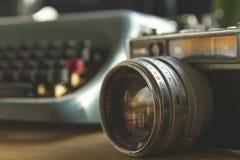 Vintage photocamera Royalty Free Stock Photography