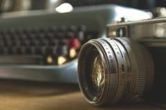 Vintage photocamera Royalty Free Stock Photos