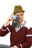 Vintage photographer Royalty Free Stock Photography