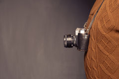 Vintage photographer Royalty Free Stock Images