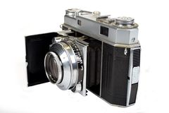 Vintage photographic camera Stock Image