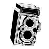 Vintage photographic camera Stock Photo