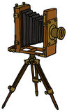 Vintage photographic camera Royalty Free Stock Photography