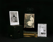 Vintage Photographs from 1910 era Royalty Free Stock Photography