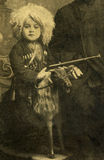 Vintage photography. Vintage photography, Northern Caucasus,Russia.Fragment Stock Photo