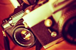 Vintage Photography Concept Royalty Free Stock Images