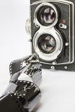 Vintage photography old camera Stock Photography