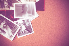 Vintage photos backdrop Royalty Free Stock Photos