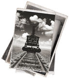 Vintage photos Old locomotive Stock Photos