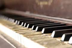 Vintage Piano 04 Stock Image