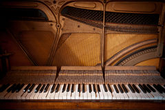 Vintage Piano Stock Images