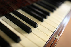 Vintage piano stock photo