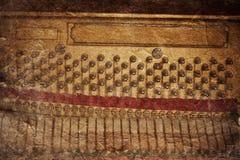 Vintage piano inside part Stock Photos
