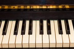 Vintage piano keyboard Royalty Free Stock Photography