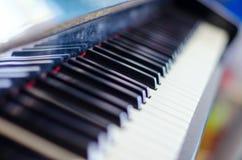 Vintage piano keyboard Royalty Free Stock Image