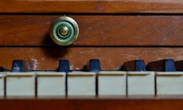 Vintage Piano Keys Stock Photos