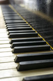 Vintage piano keys Stock Photo