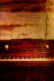 Vintage Piano Royalty Free Stock Photography