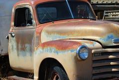 Vintage Pickup. Rusty old tan pickup truck Royalty Free Stock Photo