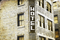 Vintage Picture Design - Hotel Royalty Free Stock Image