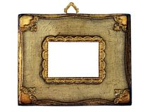 Vintage picture frame Stock Image