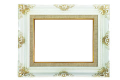 Vintage picture frame for background Royalty Free Stock Photos