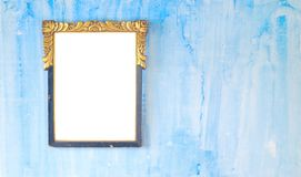 Vintage picture frame, free copy space Stock Photos