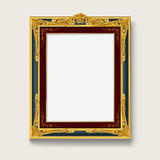 Vintage  picture frame Royalty Free Stock Images