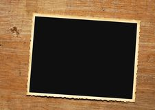 Vintage picture frame on grungy background Royalty Free Stock Photos